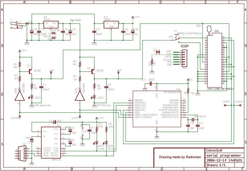 PIC serial Pro programmer on altium limited, eagle information, eagle photography, eagle design, eagle chart, altium designer,