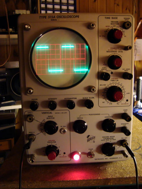 Vintage Tektronix Oscilloscopes : Tektronix a oscilloscope