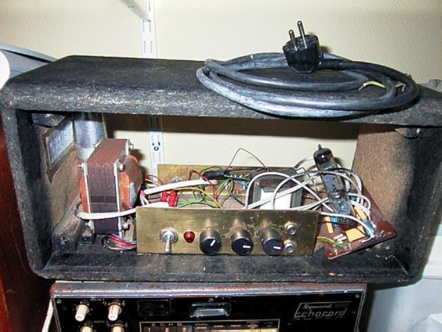 Homemade Tube Amplifier 5 Watt