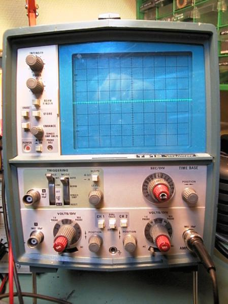 Vintage Tektronix Oscilloscopes : Antique radio forums view topic tektronix t